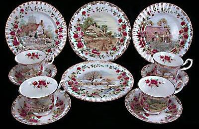 Royal Albert - Four Seasons - Collector Plates .royalalbertpatterns.com & Royal Albert - Four Seasons - Collector Plates www ...