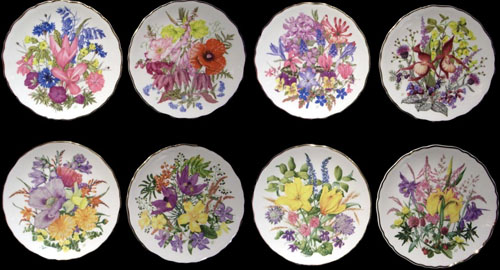 Royal Albert - An A to Z of Wild Flowers - Collector Plates .royalalbertpatterns.com & Royal Albert - An A to Z of Wild Flowers - Collector Plates www ...