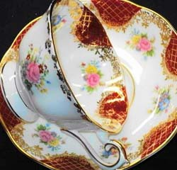 Royal Albert - Empress Series - Series www.royalalbertpatterns.com