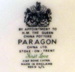 dating paragon fine bone china