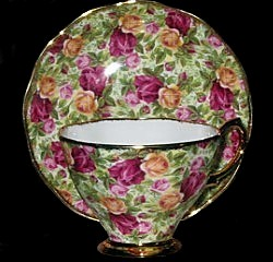 Royal Albert China Old Country Roses Rose Chintz